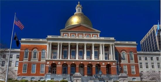 Massachusetts State House Facade
